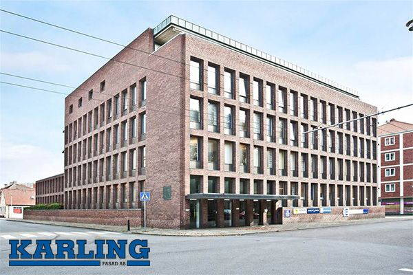 Karling Fasad AB finns på Storgata 24, Landskrona