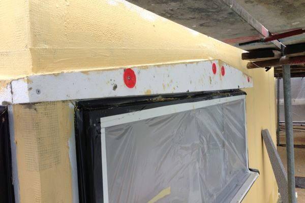 Renovering av enstegstätade fasader